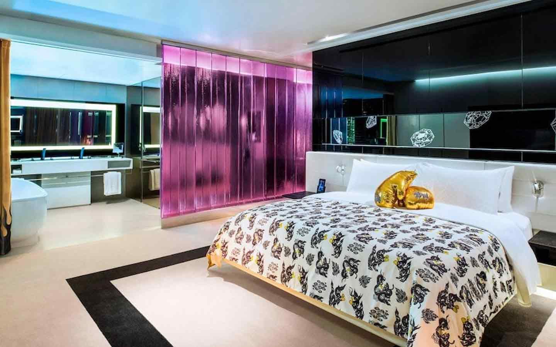 room at a party friendly hotel in Bangkok