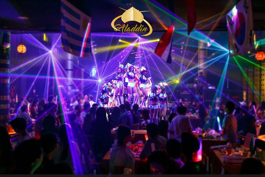 Aladdin Bangkok g club