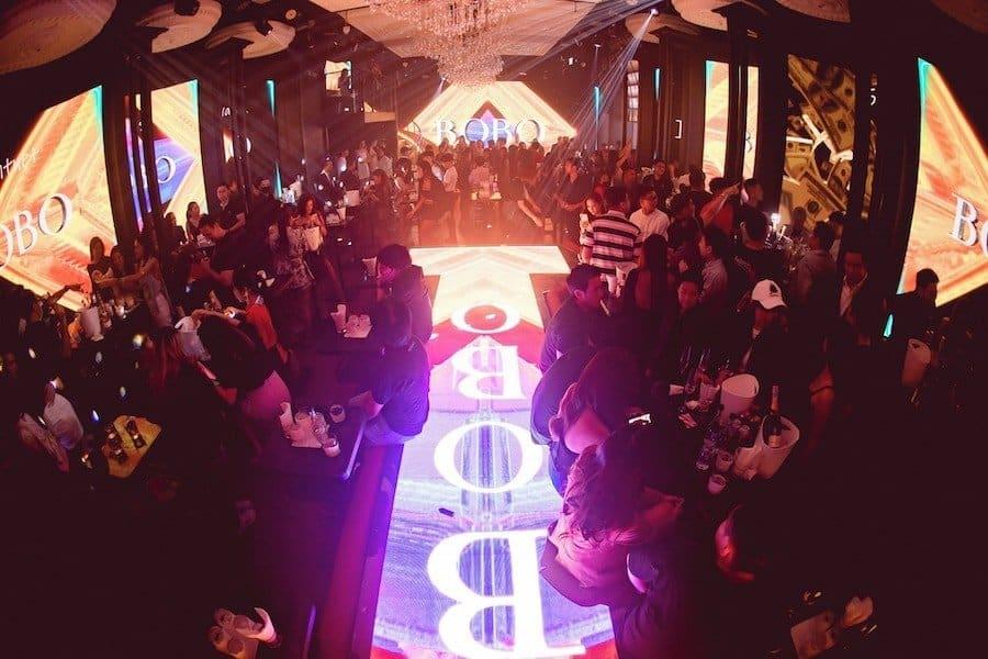 Inside Bobo Club in Bangkok