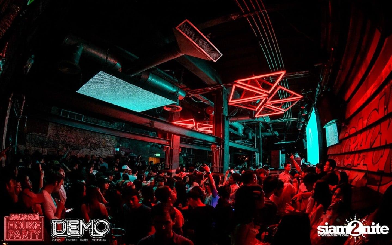 DEMO Bangkok club in Thonglor arena soi 10