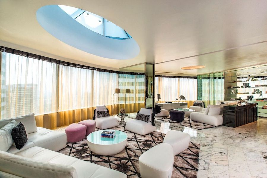 extreme wow suite at W Hotel in Bangkok