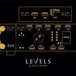levels club floor plan
