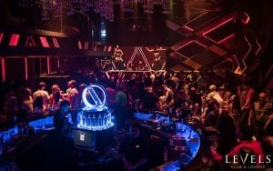 inside levels club and lounge in Bangkok in sukhumvit soi 11