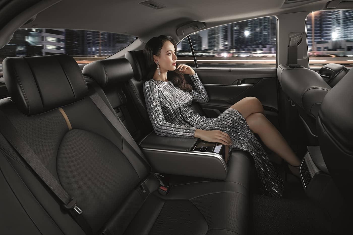 Limousine Back Seat