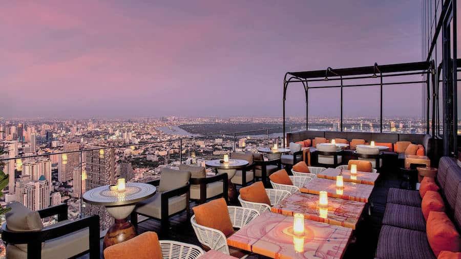 rooftop bar Mahanakhon Bangkok sky bar