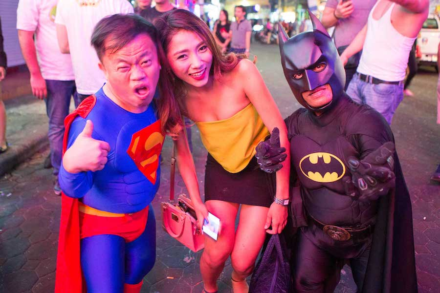 little superheroes midget in Pattaya