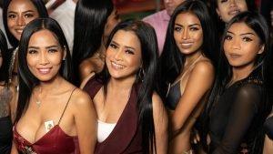 Thai girls in a club in Pattaya