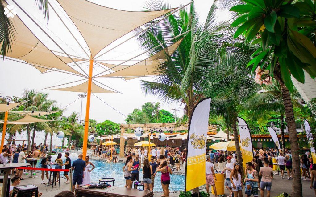 Kolour pool party in Pattaya
