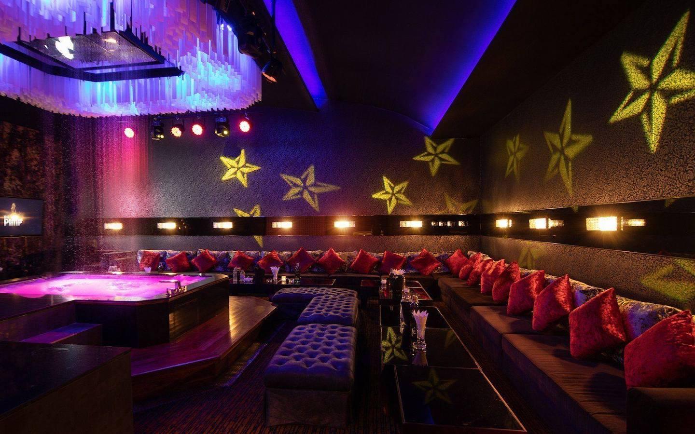 private room at the PIMP Bangkok gentlemen club