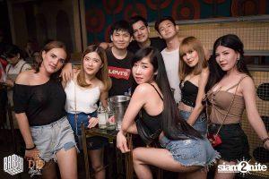 regular standing table at Barbarbar in Bangkok
