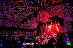 Route66 club Bangkok red room light