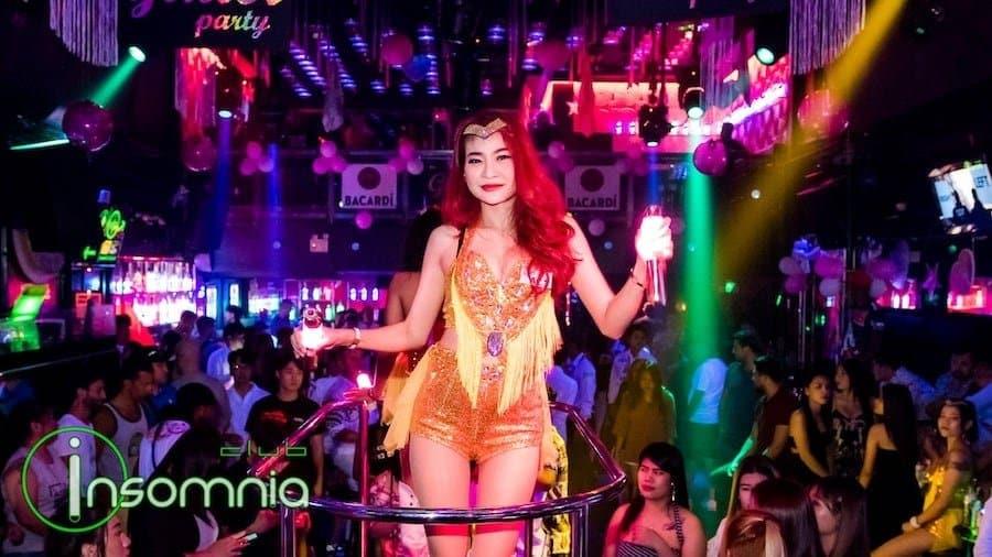 sexy dancer at Insomnia Club in Walking Street Pattaya