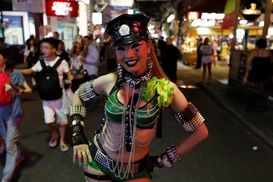 sexy girl in walking street Pattaya