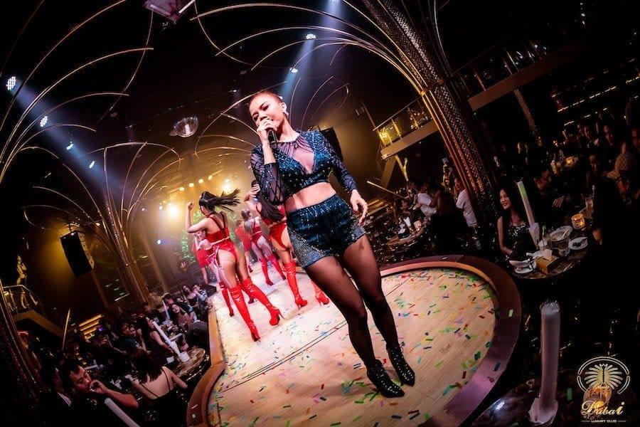 Sexy singer at Dubai Luxury Club in Ratchada Bangkok