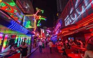 Soi Cowboy red light district in Bangkok