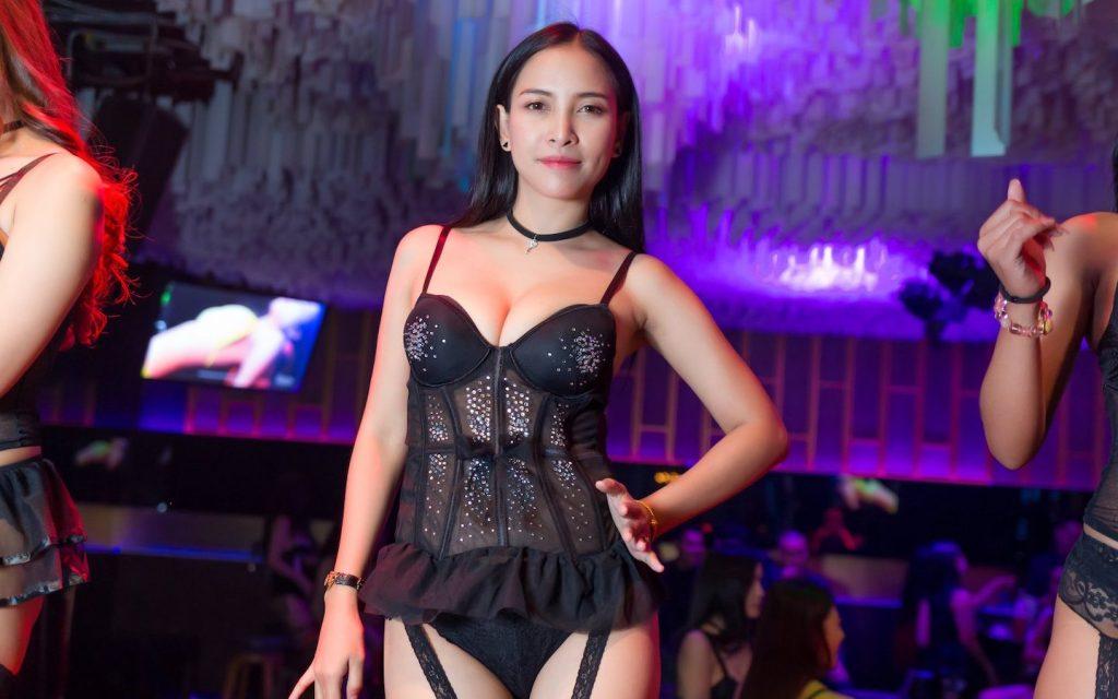 Sexy Thai dancer at a club in Bangkok