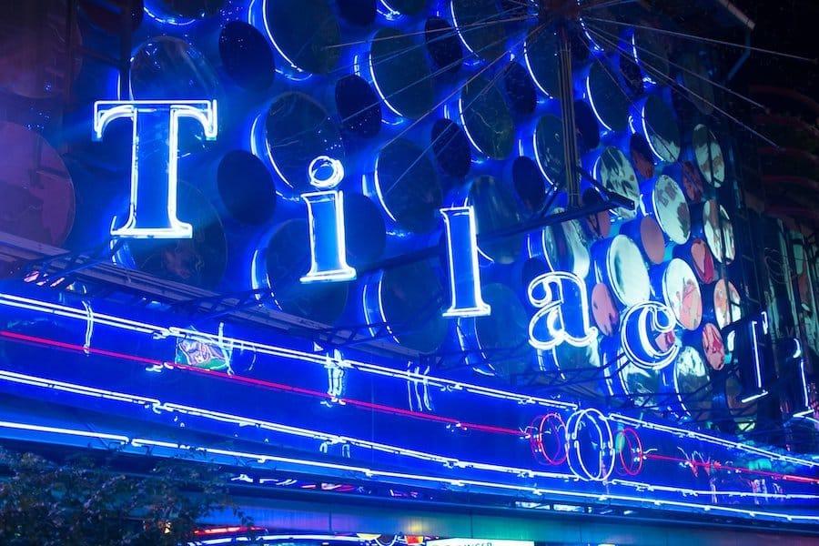 neon sign of Tilac gogo bar in Soi Cowboy