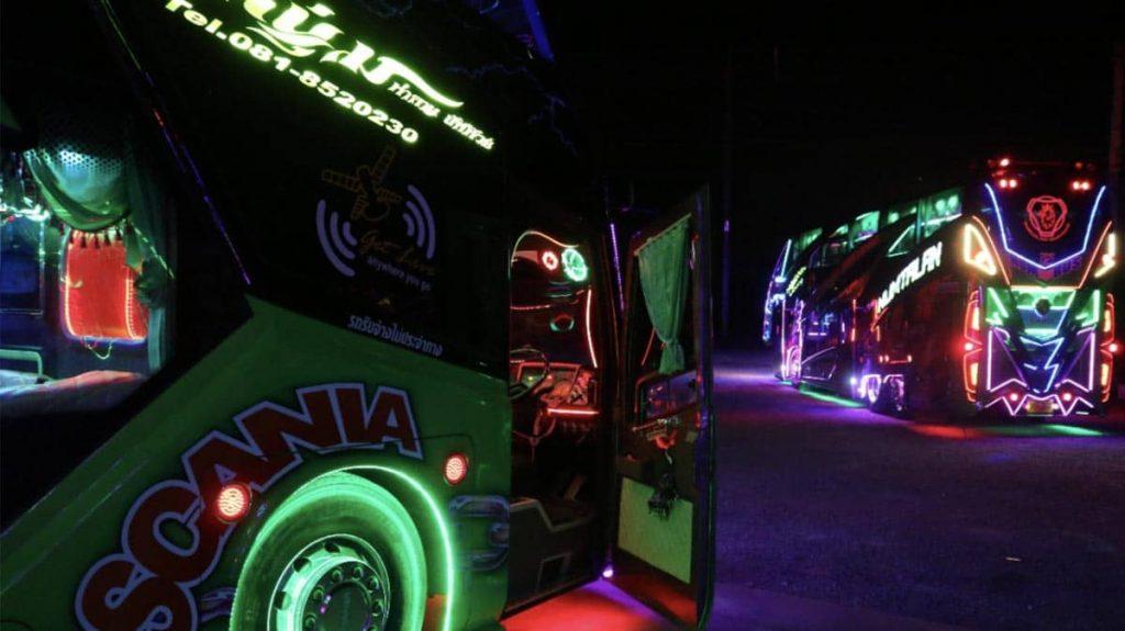 unique party bus in thailand