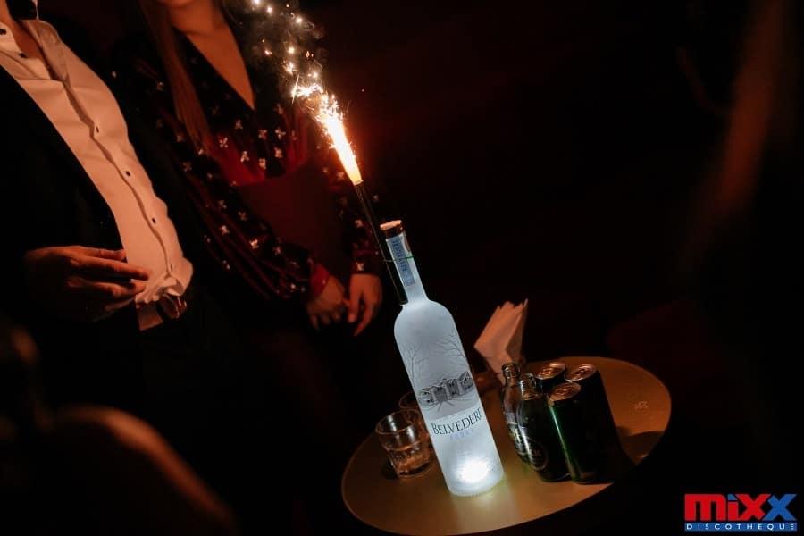 VIP bottle at Mixx Bangkok