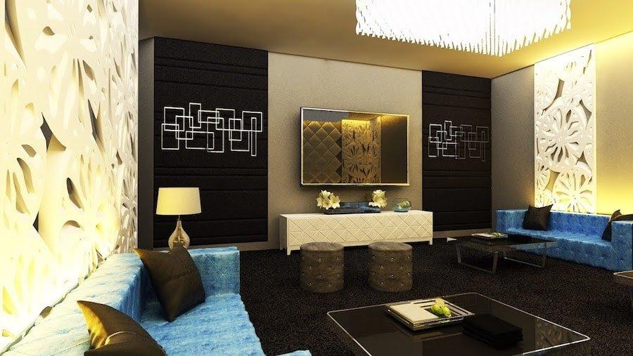 interior of a small VIP room at Krystal Club Thonglor in Bangkok