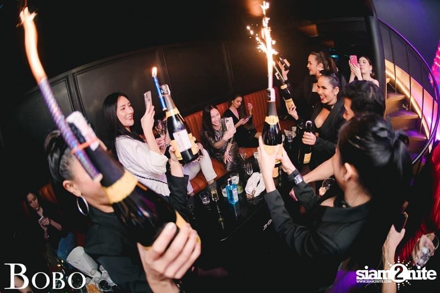 VIP service at Bobo Bangkok