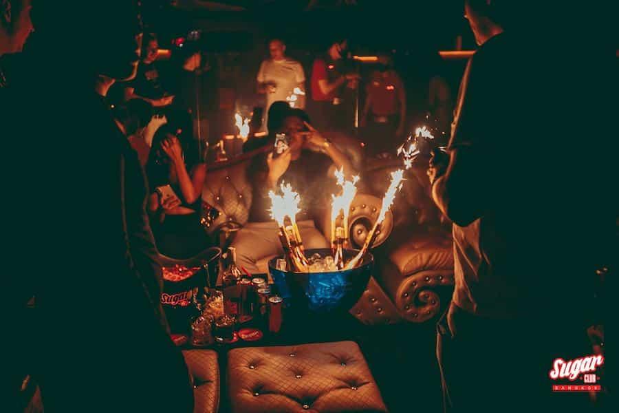 VIP service at Sugar Club Bangkok