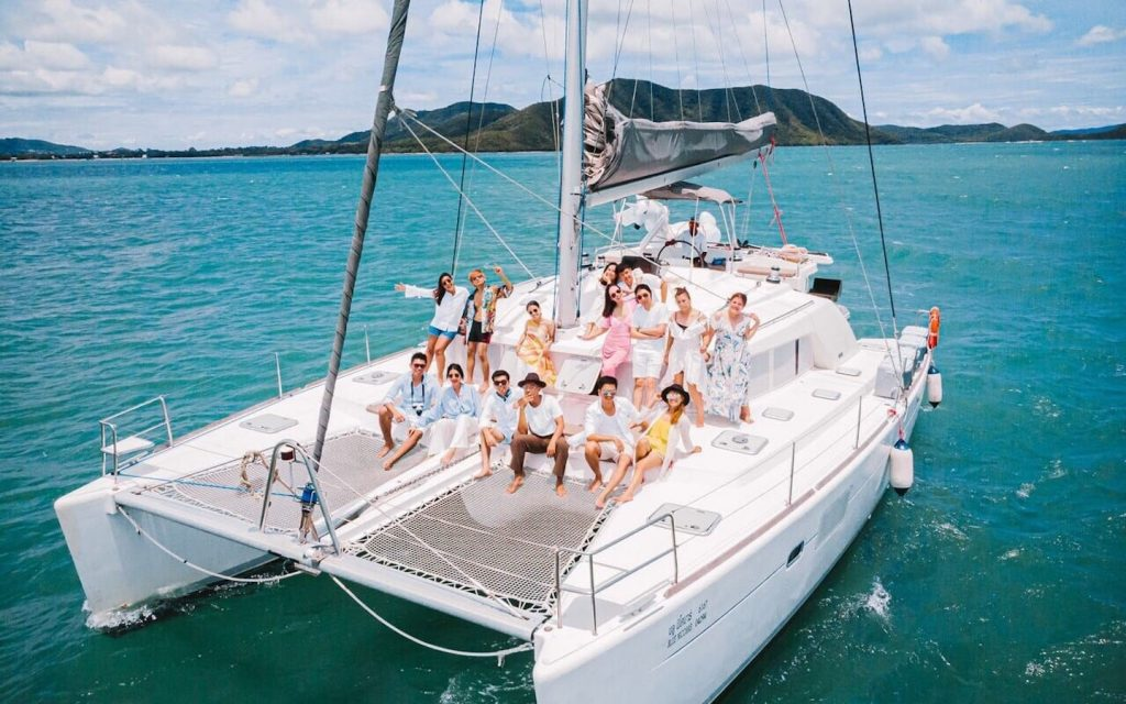 yacht party in Pattaya